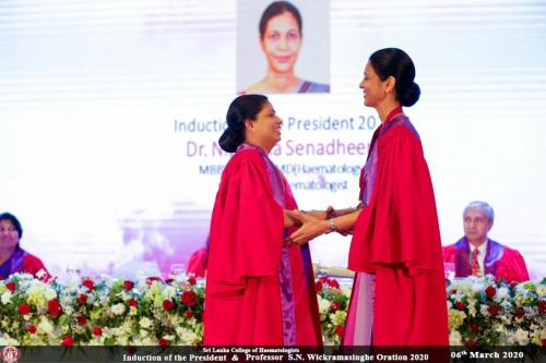 Induction of President