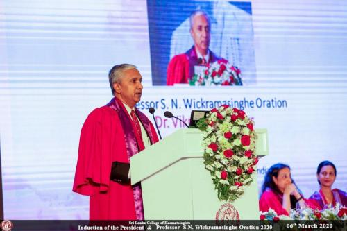 Oration by Dr. Vikram Mathews